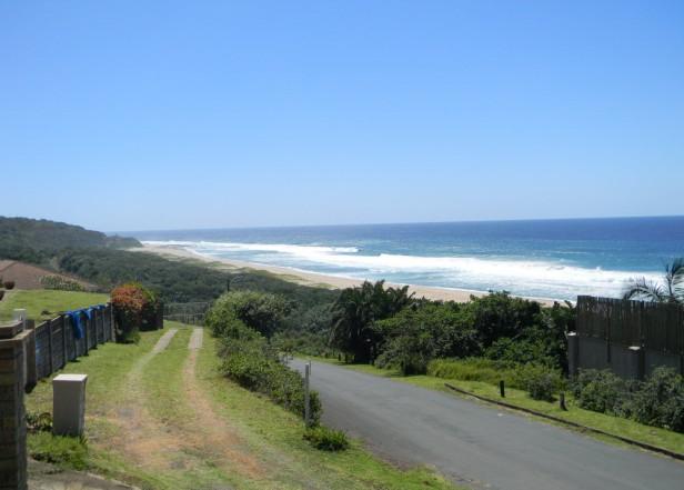 View from Elysium towards Ifafa beach