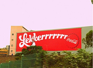 Coca-Cola is lekker