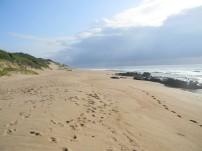 Long, long stretches of golden beach