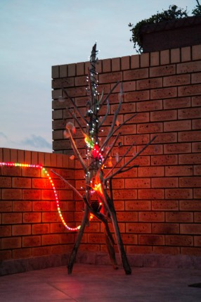 2015 Xmas tree - the end product