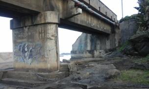 Railway bridge over Fafa river