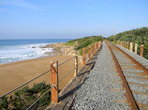 Trainbridge over the Mhlangamkulu river