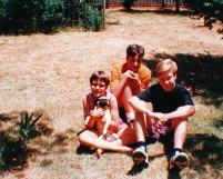 Bloemfontein 1993 at our home in Fichardtpark