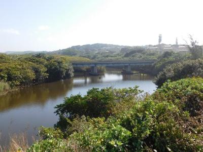 Die Dombarivier (ook genoem Indombe- of Indomba-rivier) by Anerley, KwaZuluNatal