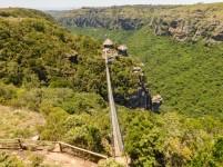 The basin of the Oribi Gorge, KwaZulu-Natal viewed from the Lake Eland plateau